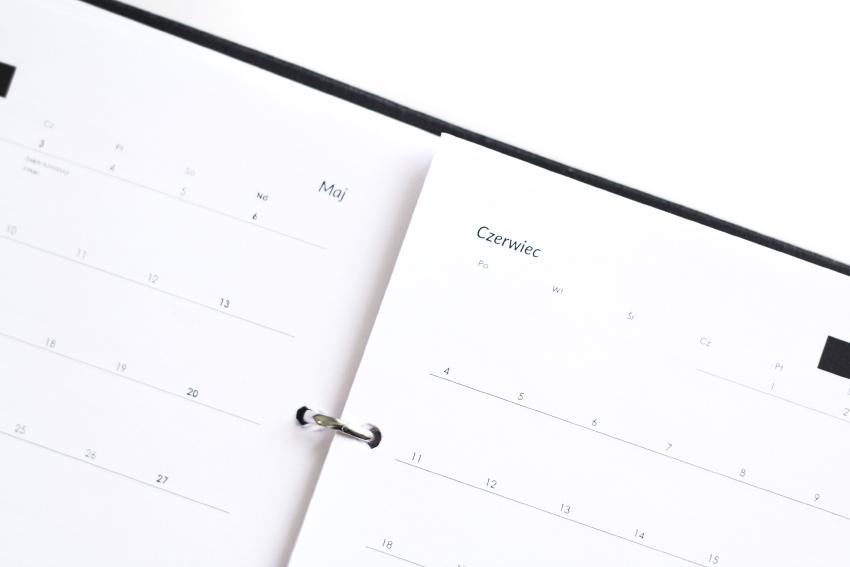 Minimalistyczny planer FORONE