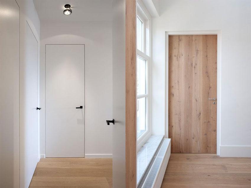 O czym pamiętać projektując swoje wnętrza - spójne drzwi w całym mieszkaniu